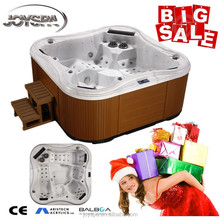 Luxury massage china hot tub/ hot tub outdoor spa made in china for 4 person spa bathtub
