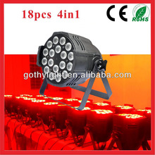 CE RoHS Certificated 18pcs 10w Par Light / CRV Led Light