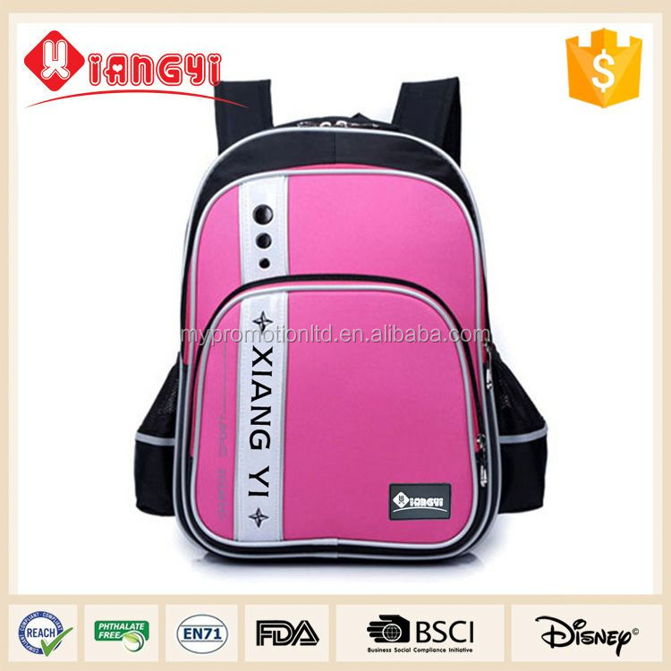 Wholesale design your own school bag backpack