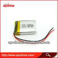 small ge power lipo battery102535 800mah