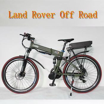 2017 New Off Road Electric Bike 48V 800W Mid-Drive Foldable Frame+9-speed Bicycle +48V 20Ah Li-ion Battery+LCD Display