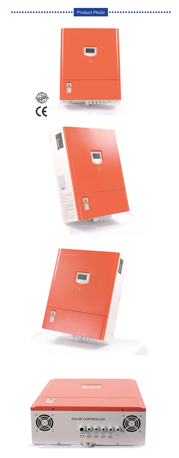 solar charge controller 192V