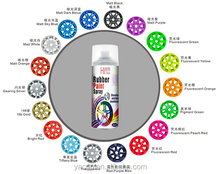 400ml nice car paint colors rubberized paint peelable made in china GOOD Price