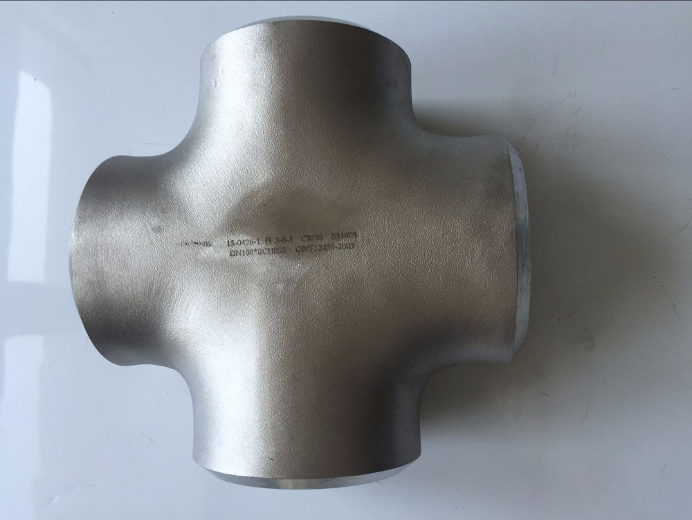 Stainless Steel SCH10 Pipe Fittings Cross China Factory