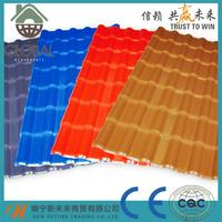 Professional waterproof material spanish residential roof tiles for wholesales