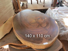 SPECIAL OFFER !! Coffee Table Acacia Slab Wood