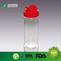 High quality Cheap 300ml recycled plastic decorative spice bottle