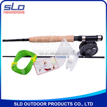 2.7m CARBON FLY FISHING ROD AND FLY FISHING REEL COMBO WITH KITS IN CARRYING BAG