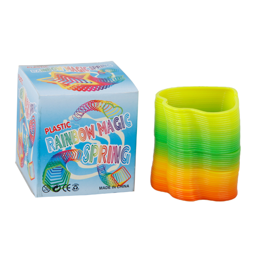 Best Lucky Draw Gift Novelty Rainbow Slinky Spring Toy