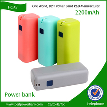 new products ABS material class A 18650 CE rohs power bank for iphone