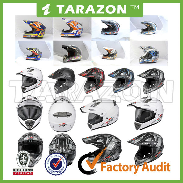 Hot sale and funny ECE &DOT certification ABS material motorcycle full face helmet for dirt bike