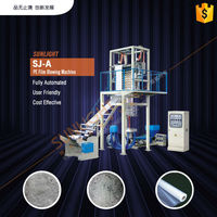 Plastic Bag Blown Film Extruder Machine