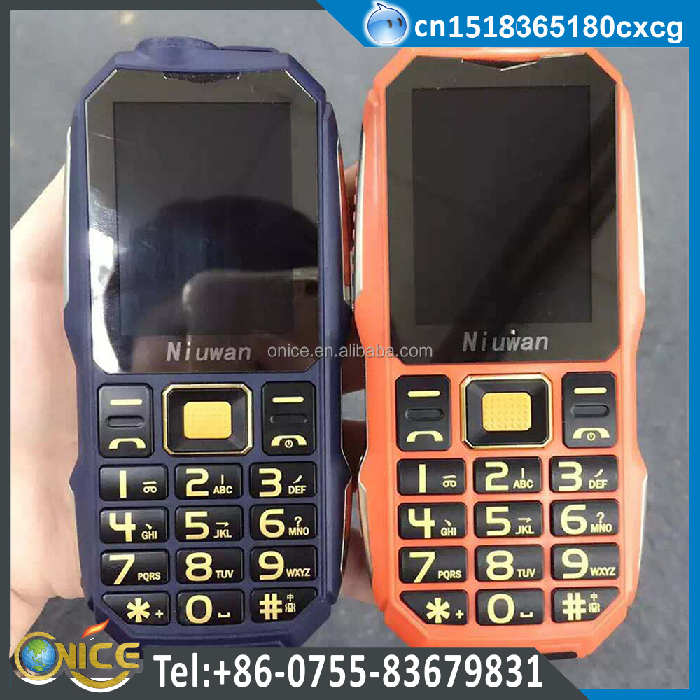 Three SIM 2 GSM 900/1800mhz 1 CDMA 800mhz mobile phone with 6000mah battery