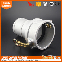 Female x Hose Tail Type C Aluminium Camlock Coupler/Cam&Grove Coupling
