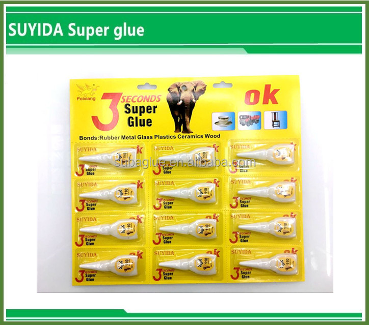 3g 502 Super Glue Bulk Packing /carton Hot Sale Cyanoacrylate Adhesive Quick Bond Bottle Glue