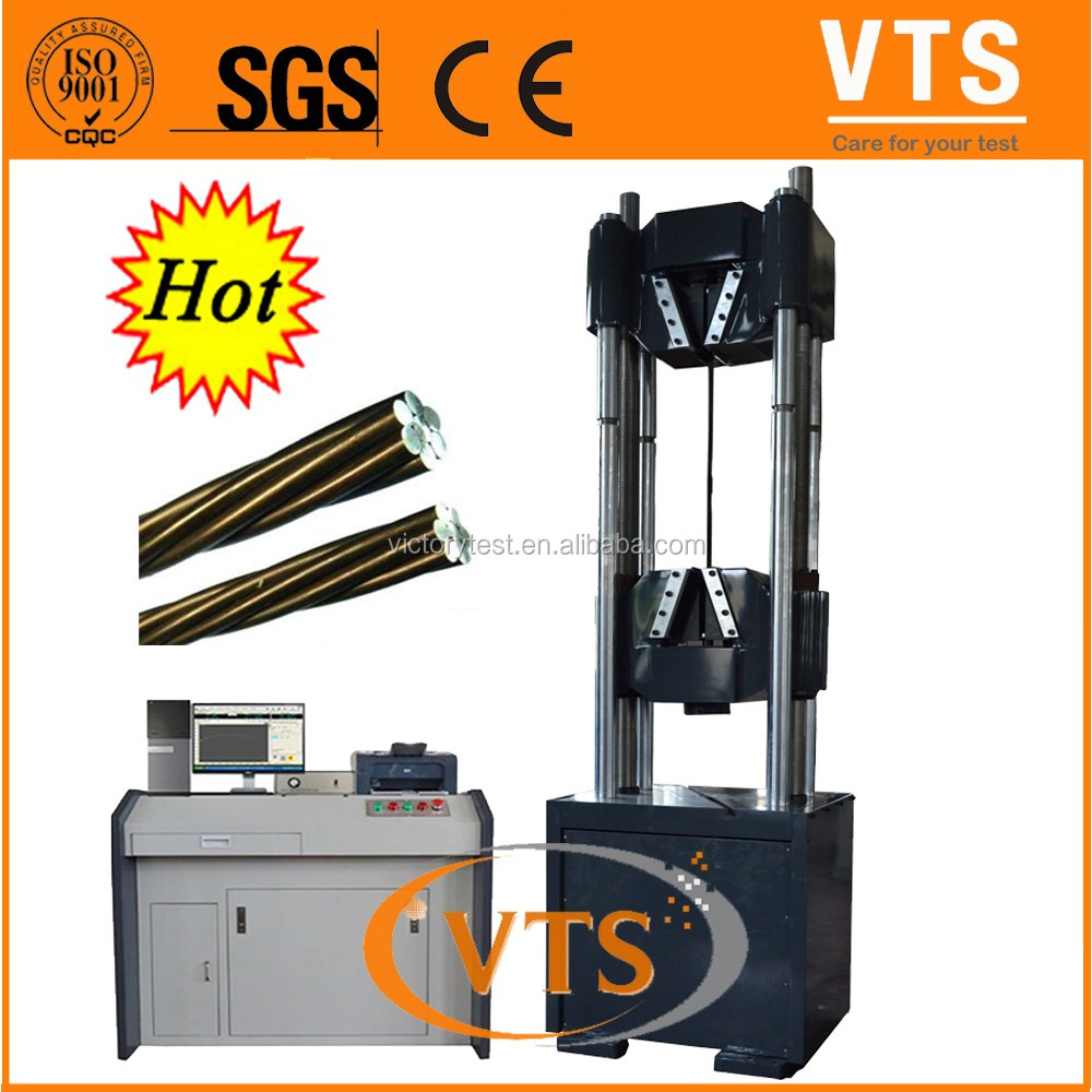 1000kN Strand Ultimate Tensile Strength and elongation Testing Machine