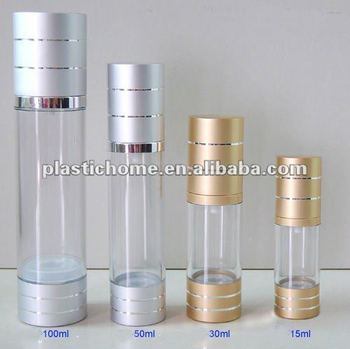 15ml airless pump bottle