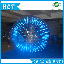 Mini plasma ball light,light zorb ball manufacturers,shining inflatable zorbing ball
