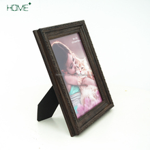 Luxury wood grain open hot sexy girl photo or picture frames