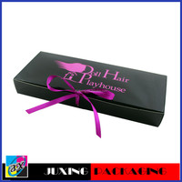 New product 2012 paper hair weave box