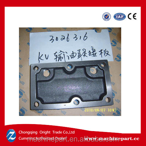 Sale <strong>Cummins</strong> kta38 original CCEC spare part 3026316 Oil Transfer Connection