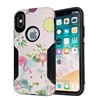 3D Relief Many Pattern Design Phone Case Cover For iPhone X Hybrid PC TPU Dual Layer Hard Cases