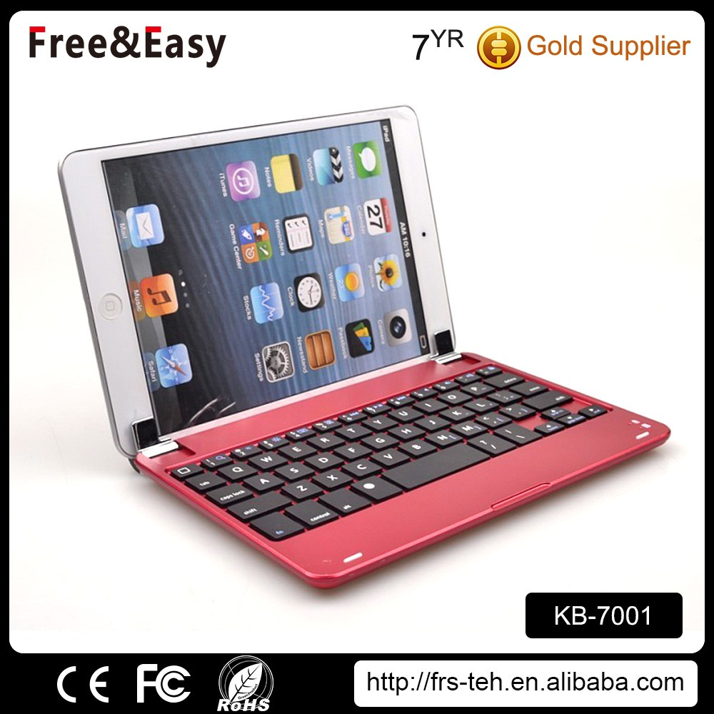Ultra-slim wireless connection mini bluetooth keyboard for tablet