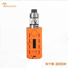 2018 e-cigarette the best vape mod Tesla WYE 200W kit by Teslacigs manufacturer