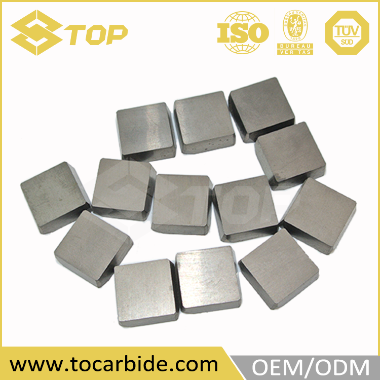 Professional cnc turning tool inserts, carbide tips for road planing, cemented carbide brazed tips