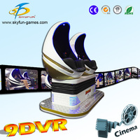 New design 9D vr video game cinema 3d glass vr video movie