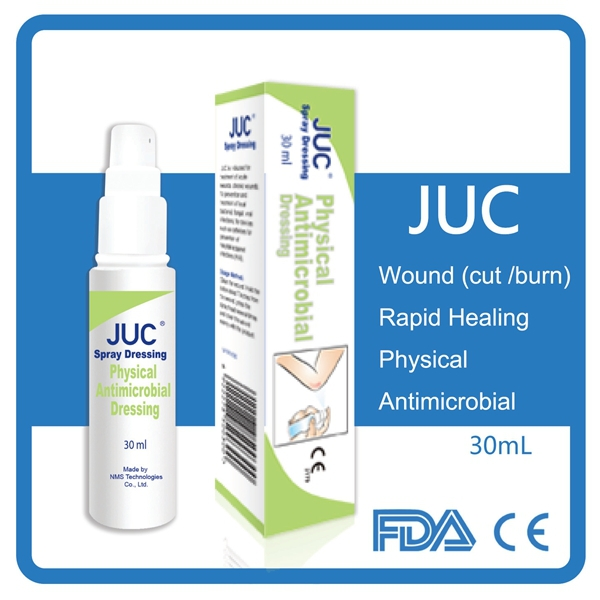High quality JUC Antibacterial wound healing spray dressing