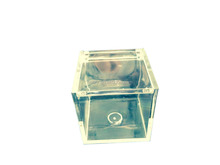 TOP QUALITY FACTORY SALE crystal glass jewelry box