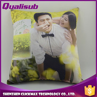 Qualisub100% Polyester Pure White Sublimation Pillow Case for Personalized Printing