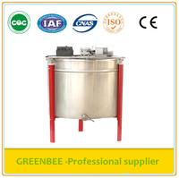 Stainless steel honey extraction equipments 24 frame electric honey extractor