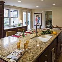Customized st cecilia granite countertop