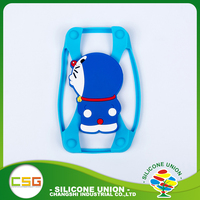 Latest silicone cross cartoon heat resistant custom cell mobile phone case