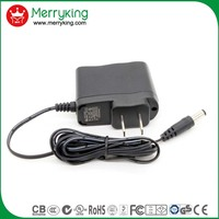adapter 9v for christmas tree light adapter with US AU EU KR UK JP Plug