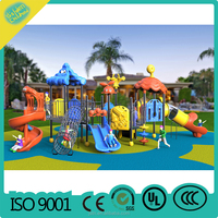 2016 plastic children Outdoor Playground Equipment /Outdoor Playsets for kids
