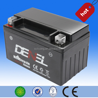dry charged lawn mower batteries made in china