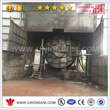 500tpm Spent Lead Battery Recycling Workshop Lead Smelting Furnace