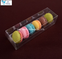 2016 plastic box for macarons/clear plastic macarons box/plastic gift box