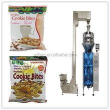 Automatic pillow-shaped bag oatmeal/grain/corn weighing packaging machinery