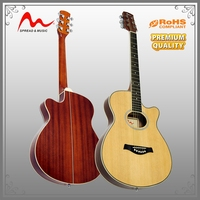 Popular Sale korean acoustic guitar manufacturer with most popular
