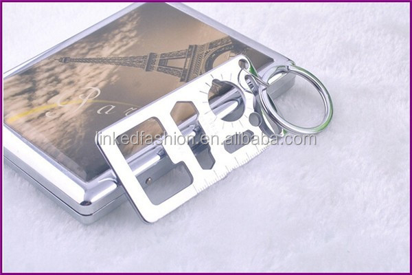 Promotion Gifts KISS metal keychain Lovers Keychain Souvenir Gift
