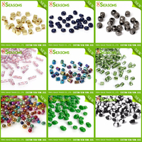 Wholesale 6/0 11/0 12/0 8/0 3mm 4mm Color Mixed Cylinder Round Glass Seed Beads In Bulk For Jewelry Making DIY