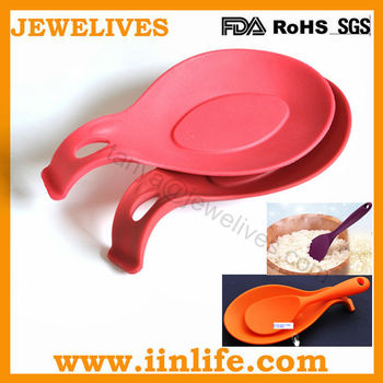 Most popular soup ladle holder,rice spoon holder