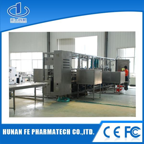 Dual Hard Tube Soft Bags & Powder/Liquid Dual-chamber Soft Bag Infusion Production Line