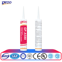 High Temperature Resistant Flexible Grey RTV Silicone Sealant