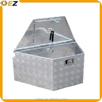 Equipment Locking Aluminum Trailer Tongue Box