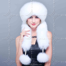 hot sale Russia high-grade imitation fur Lei feng ear muff cap faux fur hat